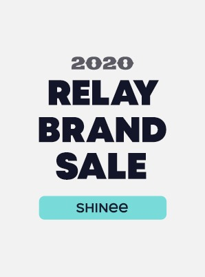 [RELAY BRAND SALE] SHINee 4th WEEK SPECIAL PRICE - 9,900