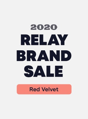 [RELAY BRAND SALE] Red Velvet 4th WEEK SPECIAL PRICE - 3,900