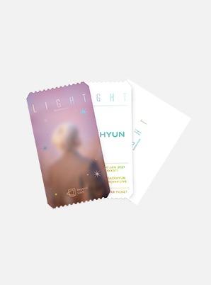 BAEKHYUN Beyond LIVE - BAEKHYUN : LIGHT SPECIAL AR TICKET SET (PHOTO ver.)