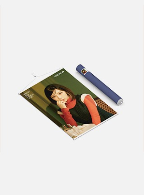 TAEYEON WALL SCROLL POSTER - What Do I Call You