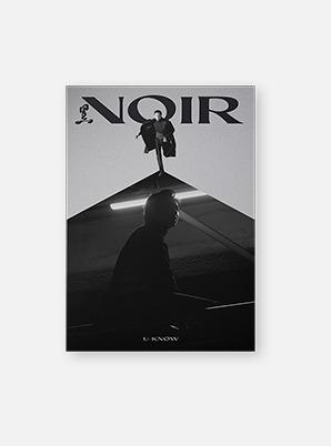 U-Know The 2nd Mini Album - NOIR(Crank In Ver.)