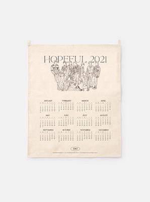 EXO 2021 Canvas Drawing Calendar