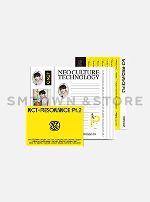 NCT  LETTER SET - RESONANCE Pt.2