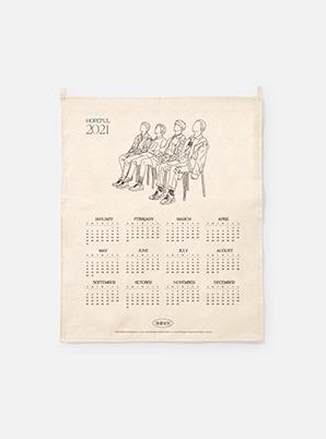 SHINee  2021 Canvas Drawing Calendar