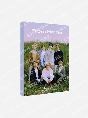 NCT POSTCARD BOOK - From Home