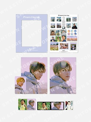 NCT PHOTO FRAME DECO STICKER SET - From Home
