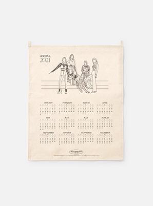 GIRLS' GENERATION-Oh!GG  2021 Canvas Drawing Calendar