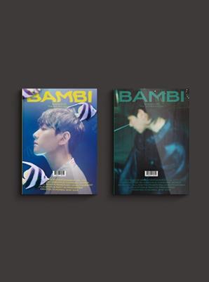 BAEKHYUN The 3rd Mini Album - Bambi (Photo Book Ver.) (Random cover ver.)