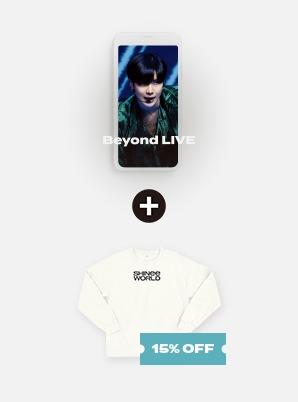 SHINee Beyond LIVE - SHINee : SHINee WORLD Live Streaming + SLIT SWEATSHIRT