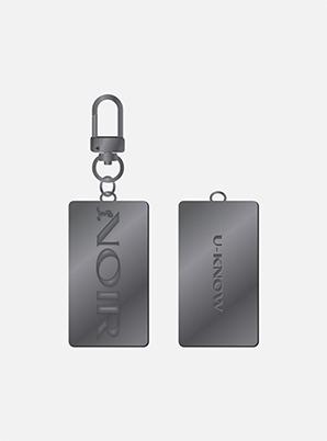 U-Know KEY RING - NOIR