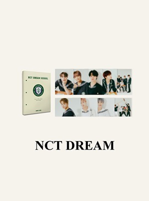 NCT DREAM HARD COVER POSTCARD BOOK - 2021 BACK TO SCHOOL KIT
