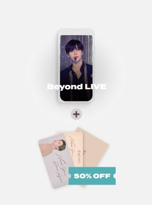 Beyond LIVE - TAEMIN : N.G.D.A [SHINee WORLD ACE ONLY] Live Streaming + SPECIAL AR TICKET SET