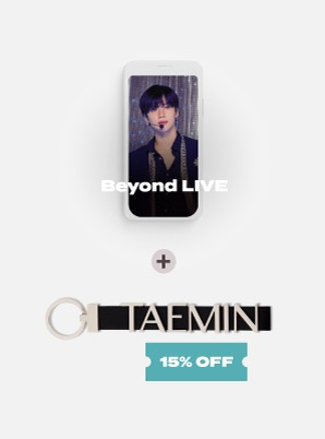Beyond LIVE - TAEMIN : N.G.D.A [SHINee WORLD ACE ONLY] Live Streaming + METAL NAME KEY HOLDER