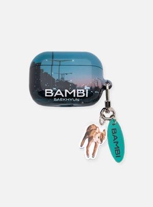 BAEKHYUN AIRPODS PRO CASE + KEYRING - Bambi