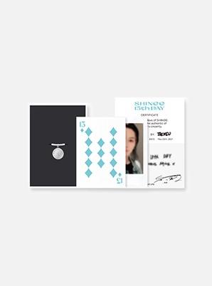 SHINee 13th ANNIVERSARY RING + PHOTO CARD SET