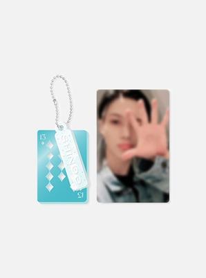 SHINee 13th ANNIVERSARY ACRYLIC KEY RING + PHOTO CARD SET