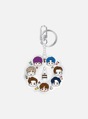 NCT DREAM ACRYLIC KEY RING - Café 7 Dream