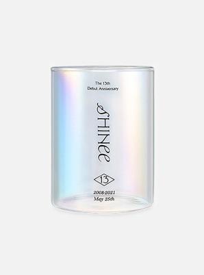 SHINee 13th ANNIVERSARY Memory Aurora Glass SET