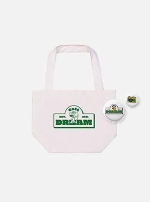 NCT DREAM MINI ECO BAG + PIN BADGE SET - Café 7 DREAM