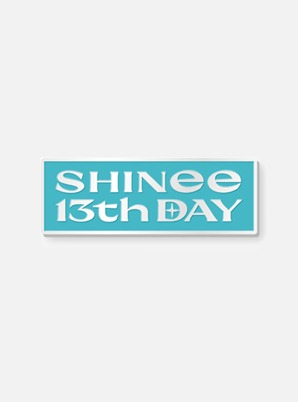 SHINee 13th ANNIVERSARY BADGE (LOGO Ver.)