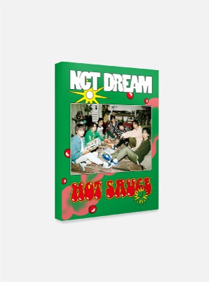 NCT DREAM POSTCARD BOOK - 맛 (Hot Sauce)