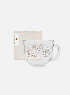 WayV CEREAL CUP+FABRIC COASTER SET - Our Home : WayV with Little Friends