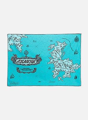 SHINee FABRIC POSTER - Atlantis