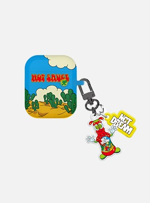 NCT DREAM AIRPODS CASE + KEYRING - 맛 (Hot Sauce)