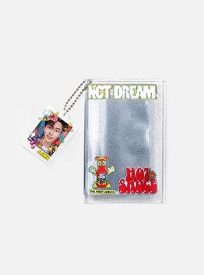 NCT DREAM PHOTO HOLDER & KEYRING - 맛 (Hot Sauce)