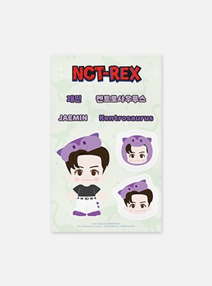 NCT DREAM REMOVABLE LUGGAGE STICKER - NCT DREAM X PINKFONG