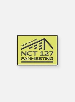 NCT 127 FANMEETING 'OFFICE : Foundation Day' Beyond LIVE BADGE