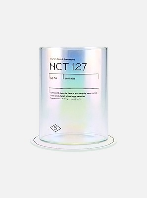 NCT 127 5th ANNIVERSARY Memory Aurora Glass SET