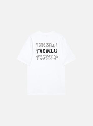 TAEMIN X SPAO 6v6 T-SHIRT (WHITE)
