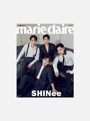 SHINee marie claire - 2021-08 C