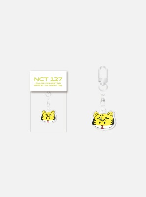 NCT 127 FANMEETING 'OFFICE : Foundation Day' Beyond LIVE HAND DRAWN ACRYLIC KEY RING