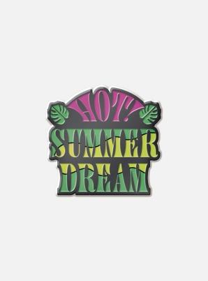 NCT DREAM Fanmeeting Beyond LIVE BADGE - HOT! SUMMER DREAM