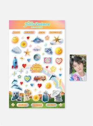 NCT DREAM HOLOGRAM EPOXY STICKER + PHOTO CARD SET - Hello Future