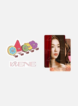 Red Velvet Fanmeeting Beyond LIVE [ReVeluv ACE ONLY] inteRView vol.7 : Queendom EPOXY STICKER SET