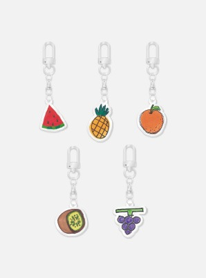 Red Velvet Fanmeeting Beyond LIVE inteRView vol.7 : Queendom HAND DRAWN ACRYLIC KEY RING