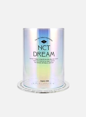 NCT DREAM 5th ANNIVERSARY Memory Aurora Glass SET