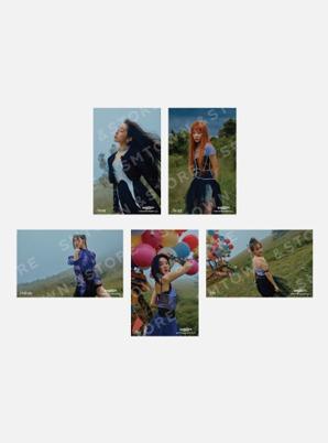 Red Velvet 4X6 PHOTO SET - Queendom