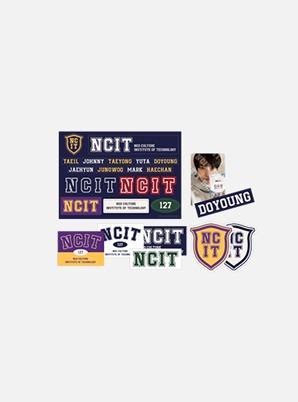 NCT 127 REMOVABLE LAPTOP DECO STICKER SET - NCIT