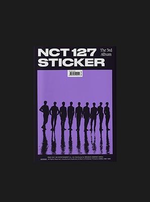 NCT 127 The 3rd Album - Sticker (Sticker Ver.)