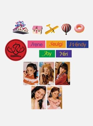 Red Velvet LUGGAGE STICKER+PHOTO CARD SET - Queendom