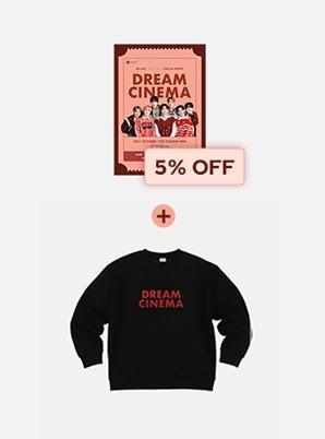 XR LIVE NCT DREAM SPECIAL EVENT : DREAM CINEMA Live Streaming + SWEATSHIRT