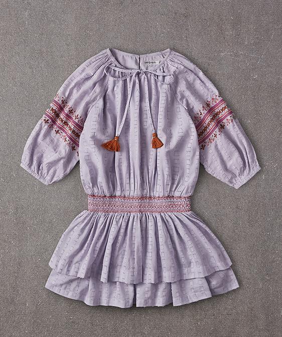 Nile Dress - Lurex Checks