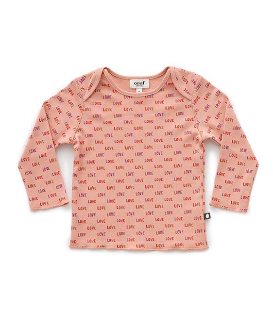 Baby Tee Shirt - Peony