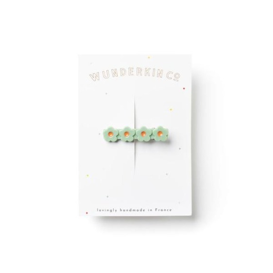 Flower Clip - Celery // no.11
