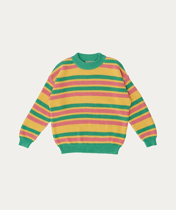 Knit Sweater (TC-SS21-29) - Striped ★ONLY 8Y★