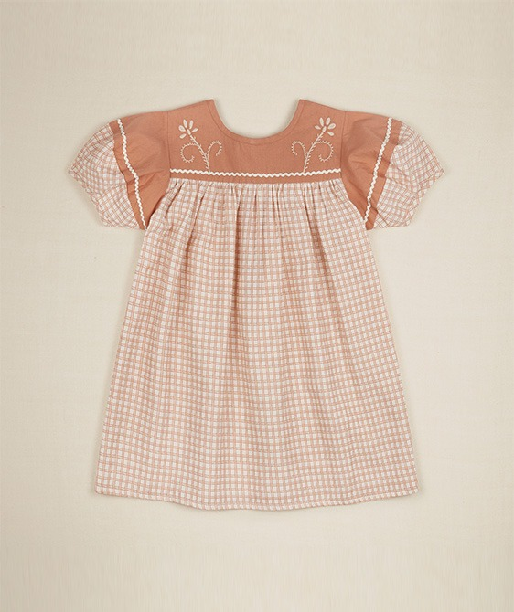 Mildred Dress - Picnic Check ★ONLY 3-5Y★